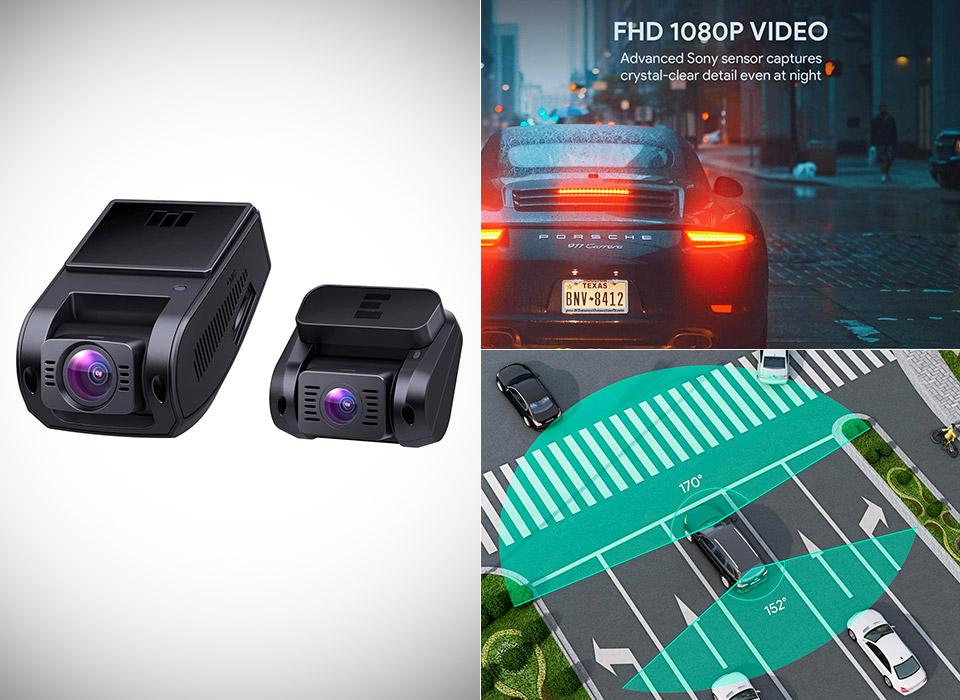 AUKEY Dual Dash Cam Sony Sensor