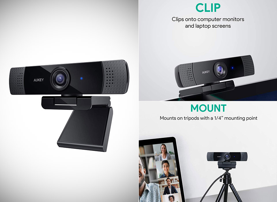 AUKEY FHD 1080p Webcam