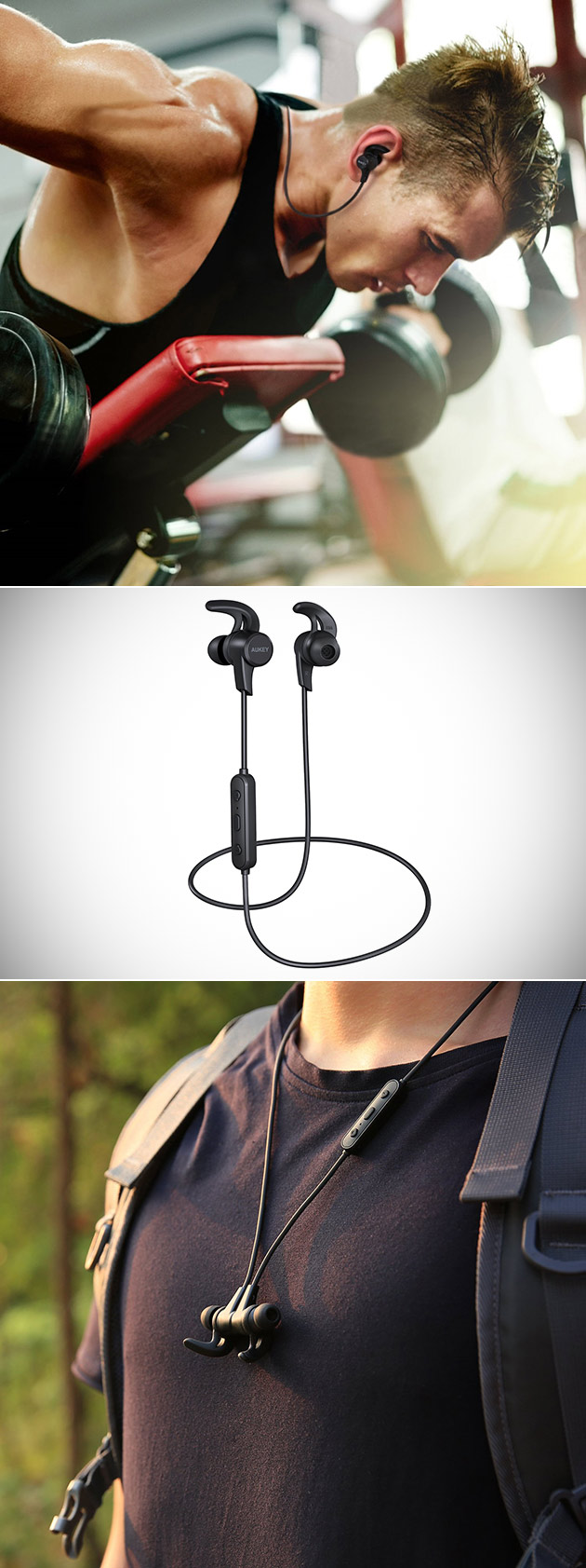 AUKEY Magnetic Bluetooth Earbuds