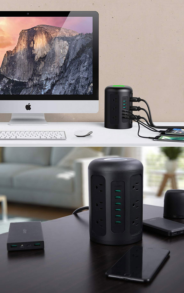 Aukey Power Strip USB Ports