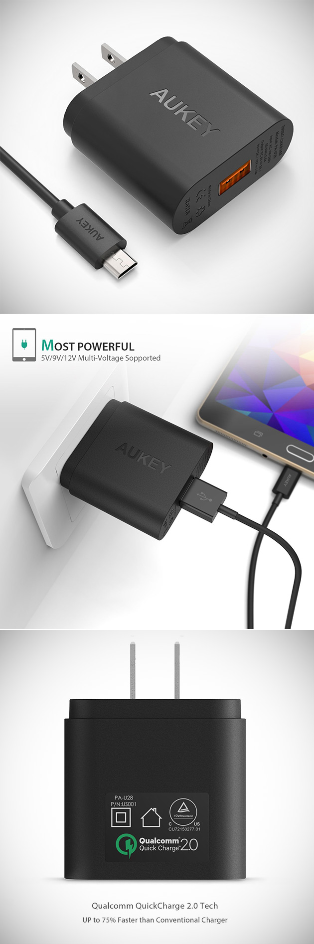 Aukey Quick Charge 2.0