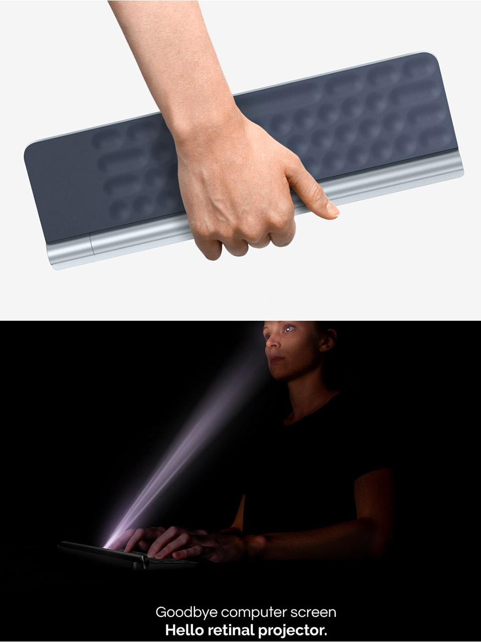 Aura Keyboard Projector