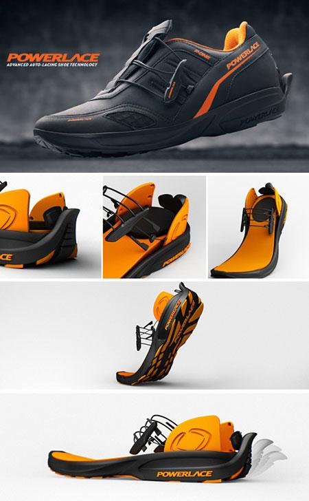 Auto Lacing Shoe