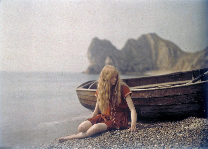 Autochrome Portrait