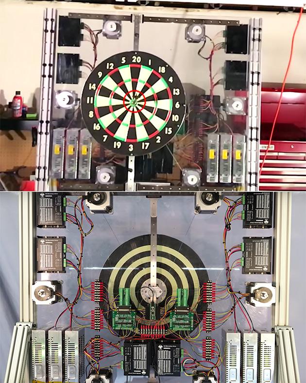 Automatic Bullseye Dartboard