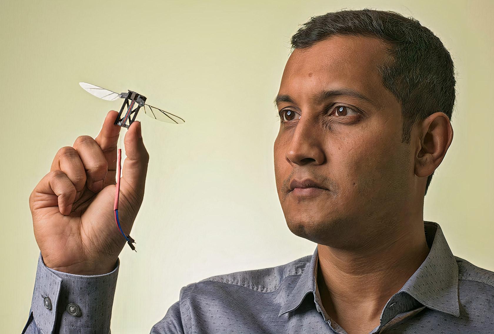 Autonomous Insect Robot Drone