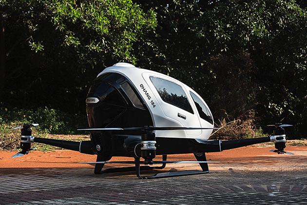 Autonomous Quadcopter Drone