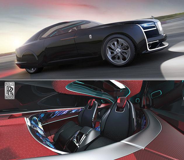 Autonomous Rolls Royce