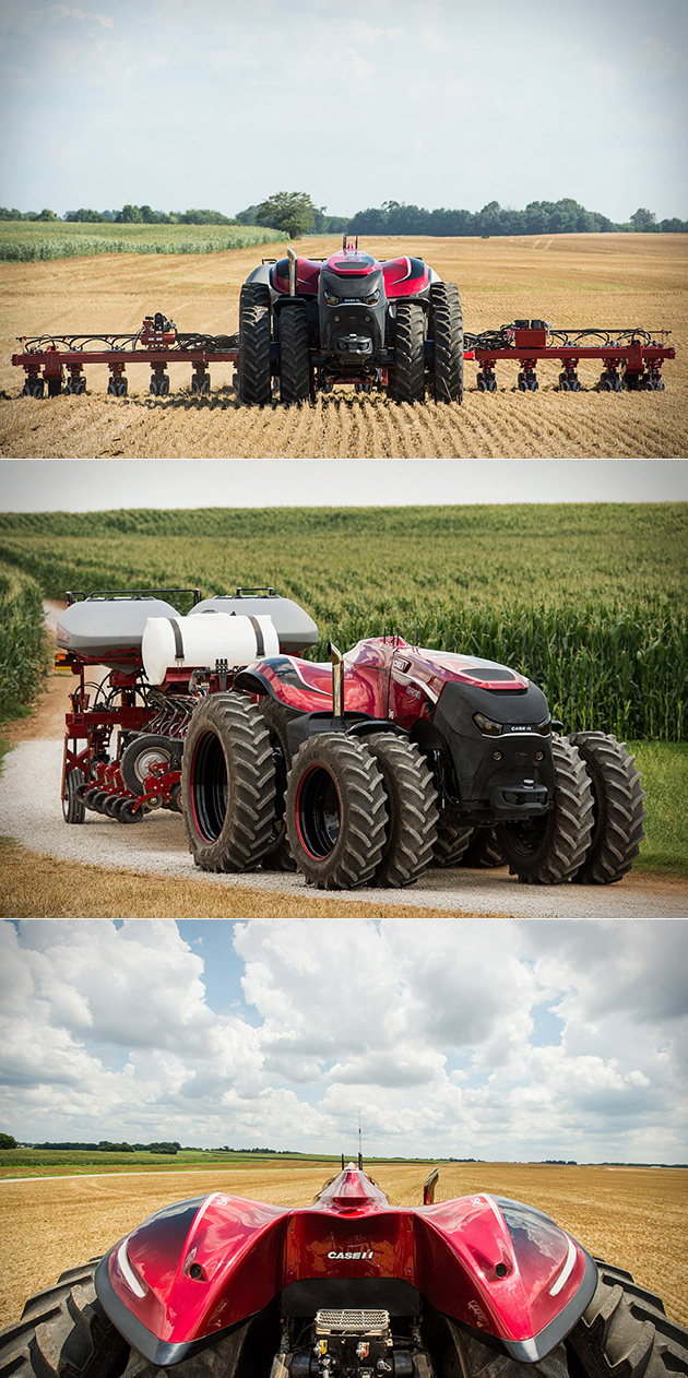 Autonomous Tractor
