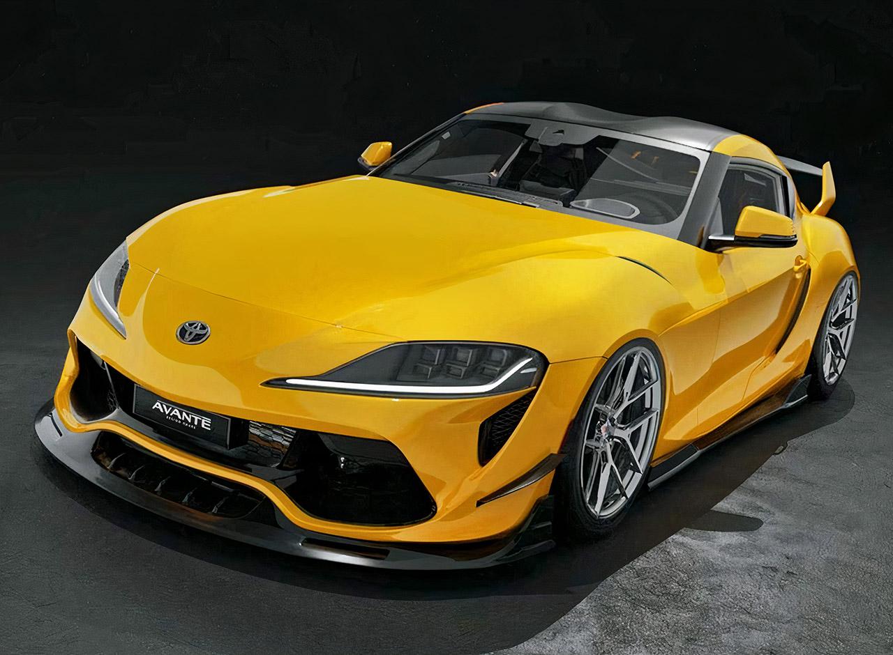 Avante Design 2022 Toyota Supra Body Kit