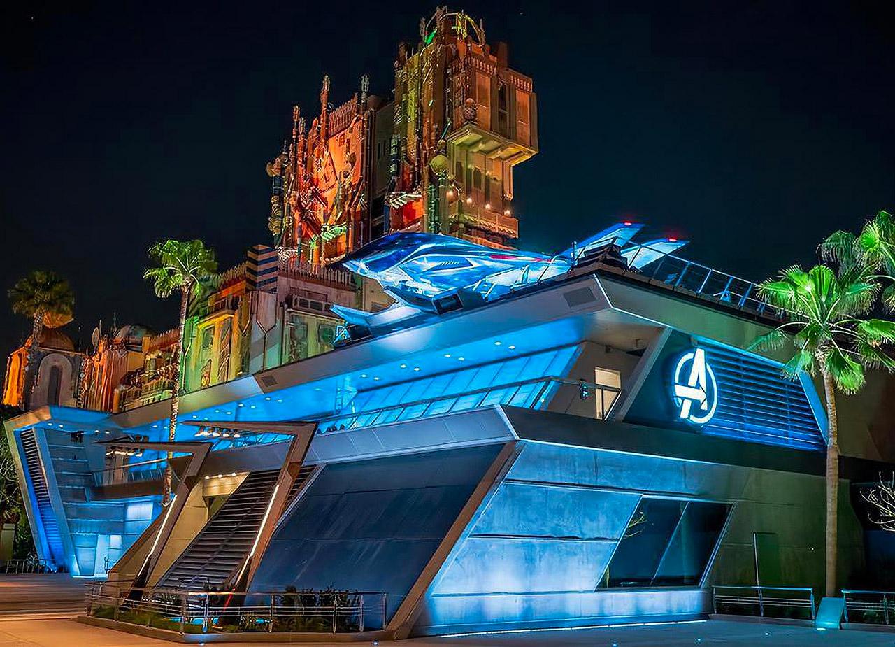 Avengers Campus Disney California Adventure Opening