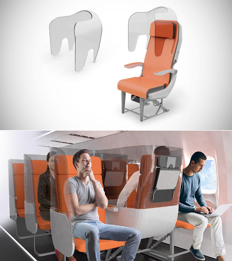Avio Interiors Economy Plane Seats Coronavirus