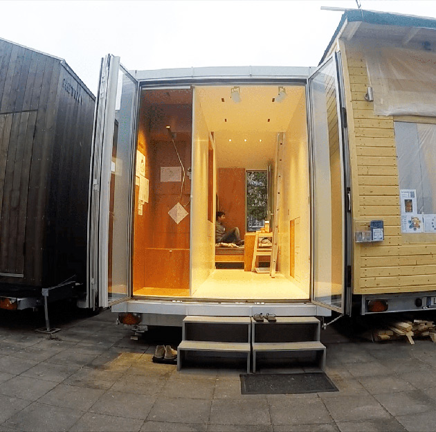 Transform A Swiss Army Knife Into A Tiny House And You Get The