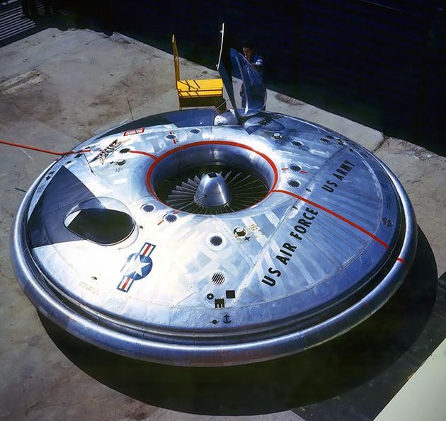 Avrocar Flying Saucer