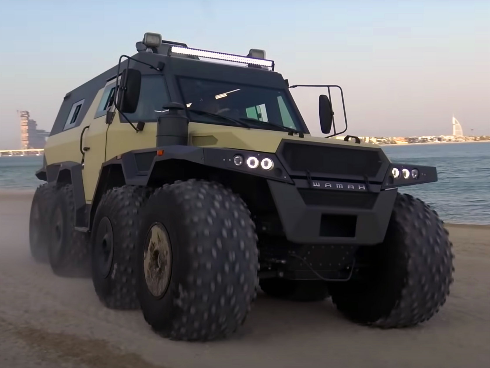 Avtoros Shaman 8x8 Dubai