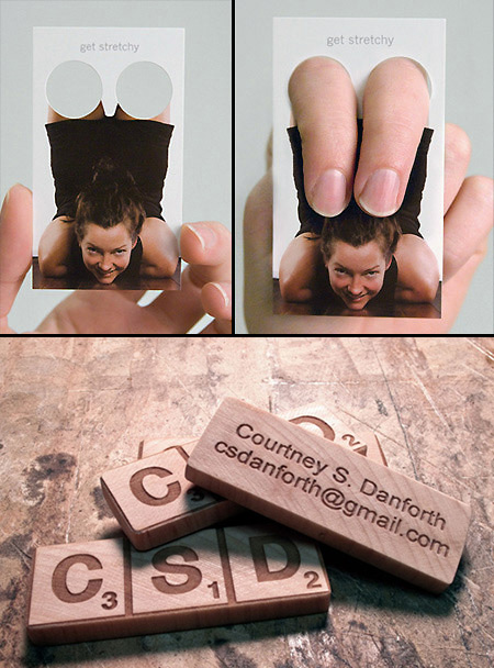 20 awesome business card designs that think outside the box techeblog 20 awesome business card designs that think outside the box reheart Images