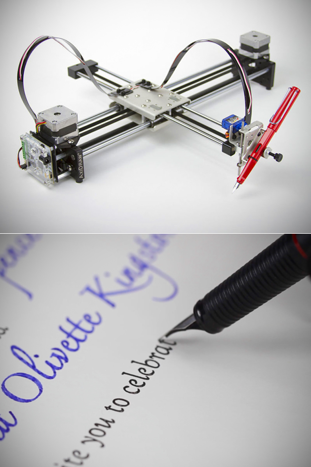 Axidraw Handwriting Machine