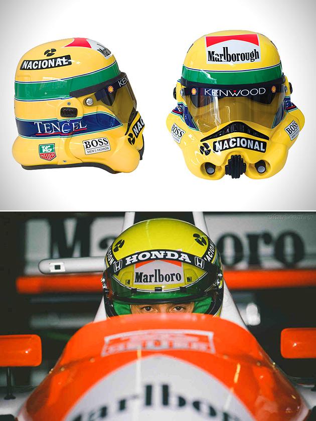 Ayrton Senna Stormtrooper