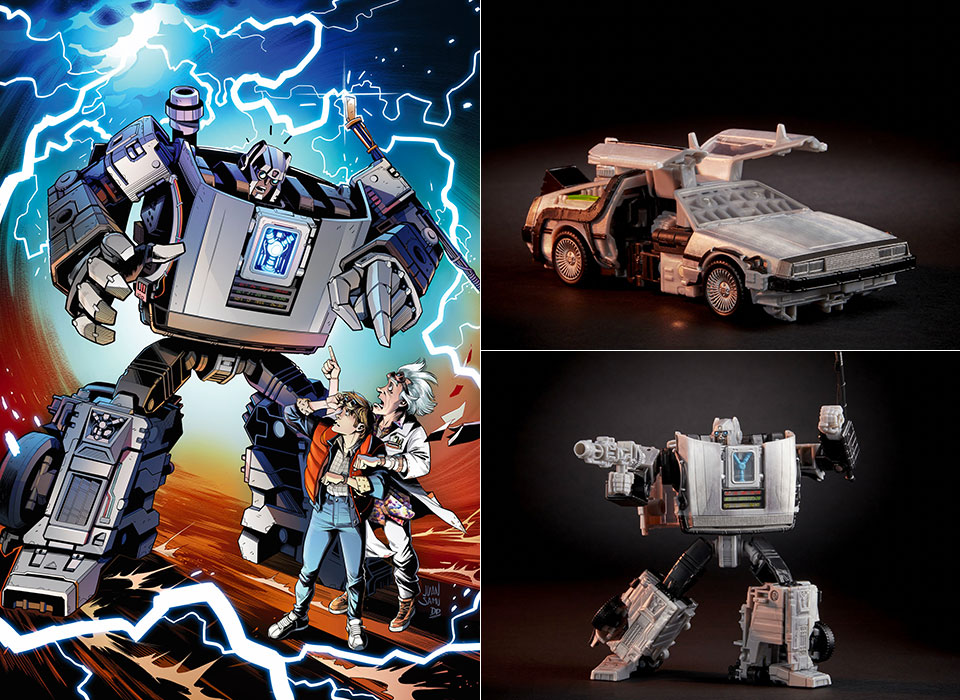 Back to the Future Gigawatt Transformer 35th Anniversary
