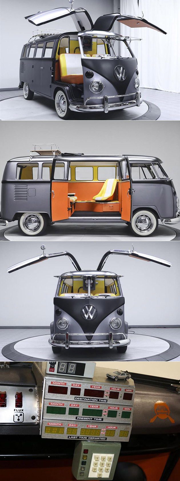 Back to the Future VW Bus Gullwing