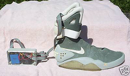 Back to the Future Shoe