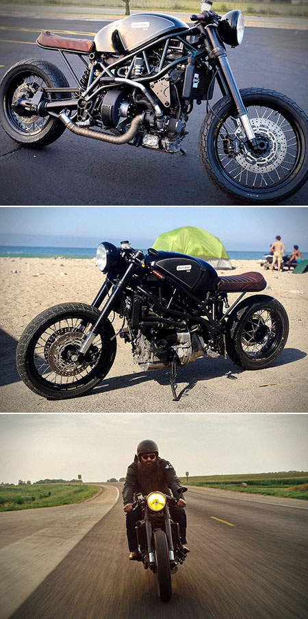 Bacon Powered Motorcycle