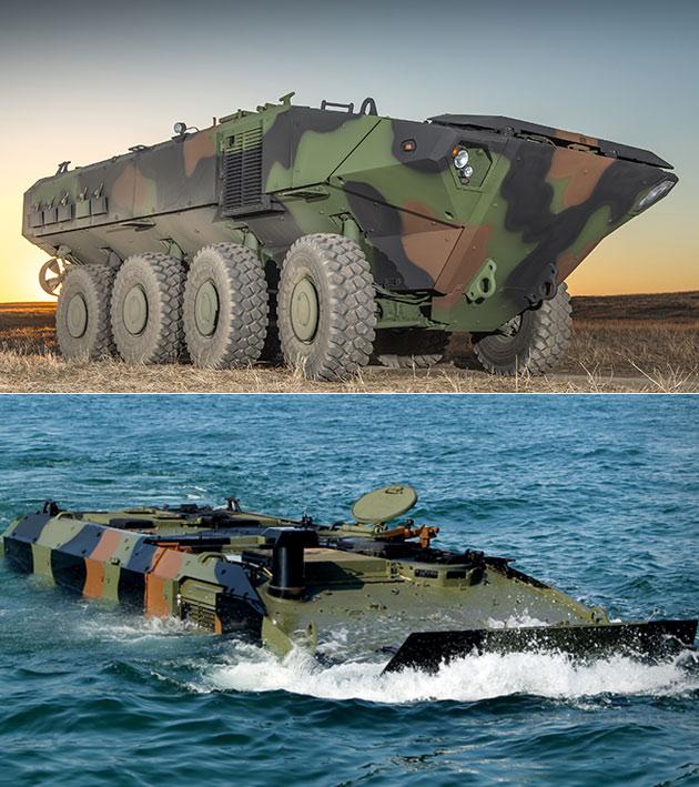 ACV Amphibious Combat Vehicles