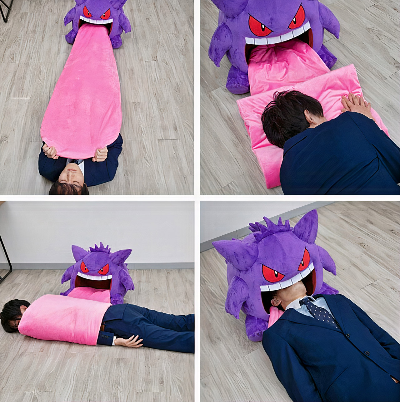 Bandai Pokemon Gengar Plush Sleeping Companion