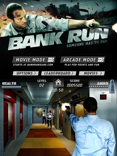 Bank Run iPhone, iPod Touch Game Free Today – TechEBlog