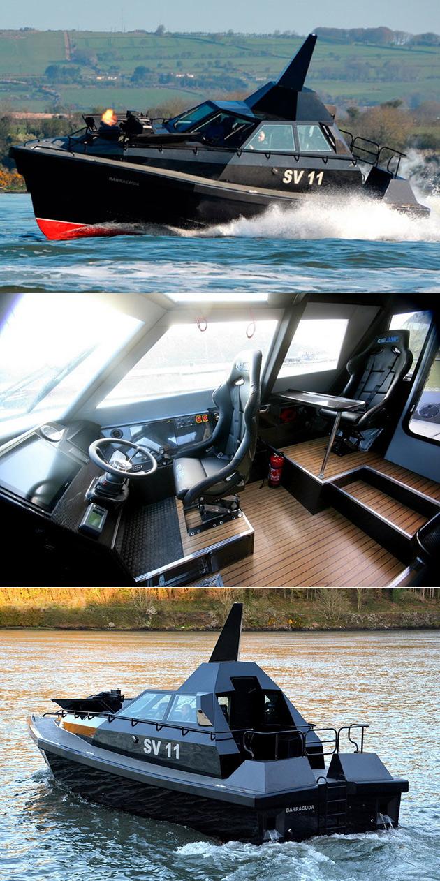 Barracuda Stealth Boat