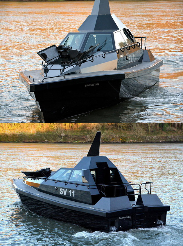 Barracuda SV11 Stealth Boat