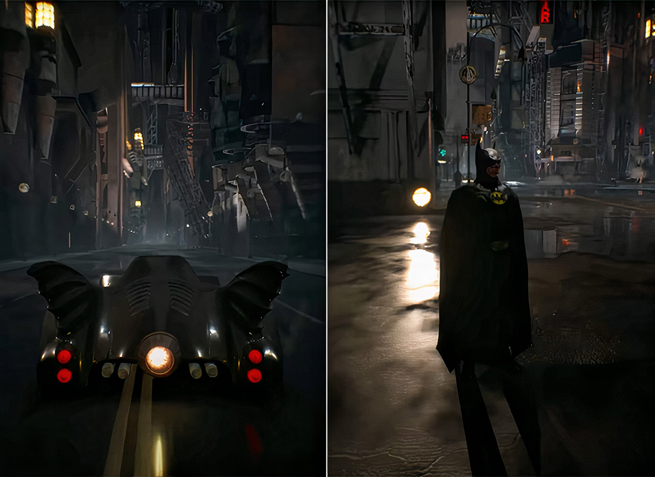 Batman 1989 Fan Game Tim Burton Michael Keaton