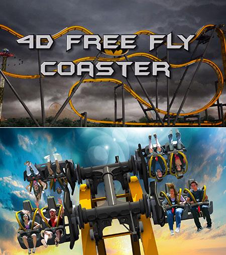 4D Batman Six Flags