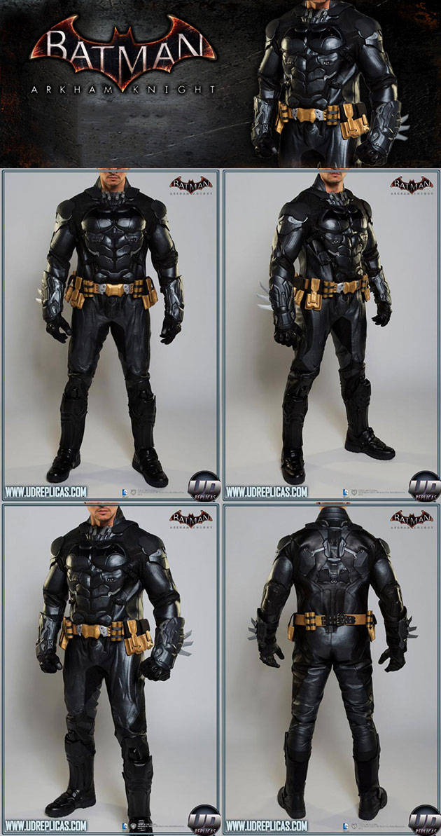 Batman Arkham Knight Motorcycle Suit