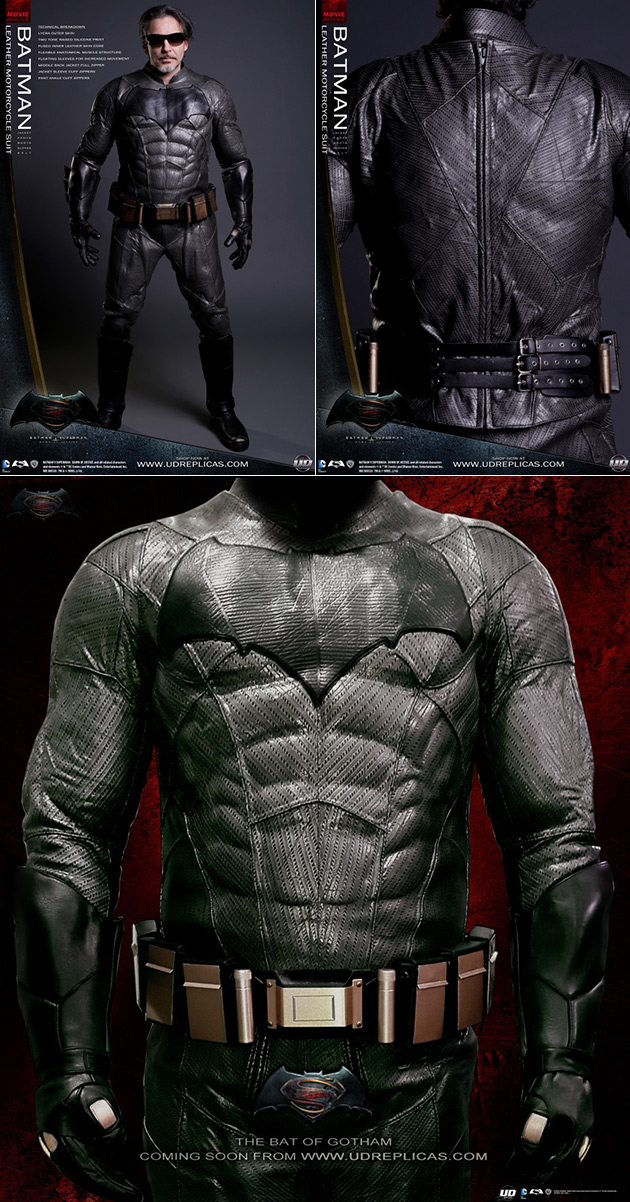 Batman Dawn of Justice Motorcycle Suit