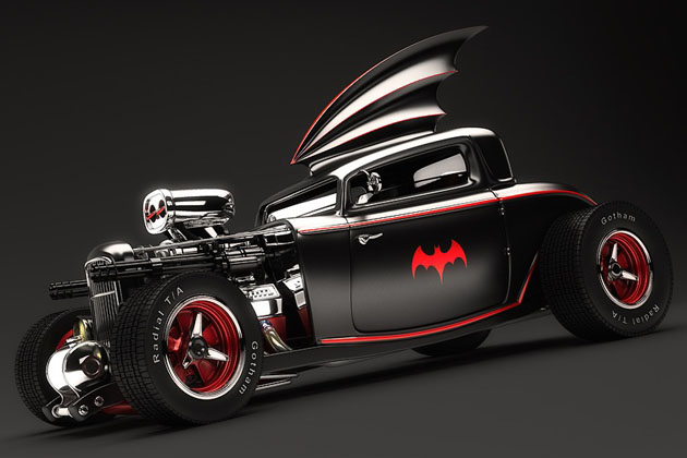 Batman Hot Rod Batmobile