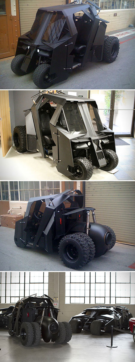 Batman Tumbler Golf Cart Real