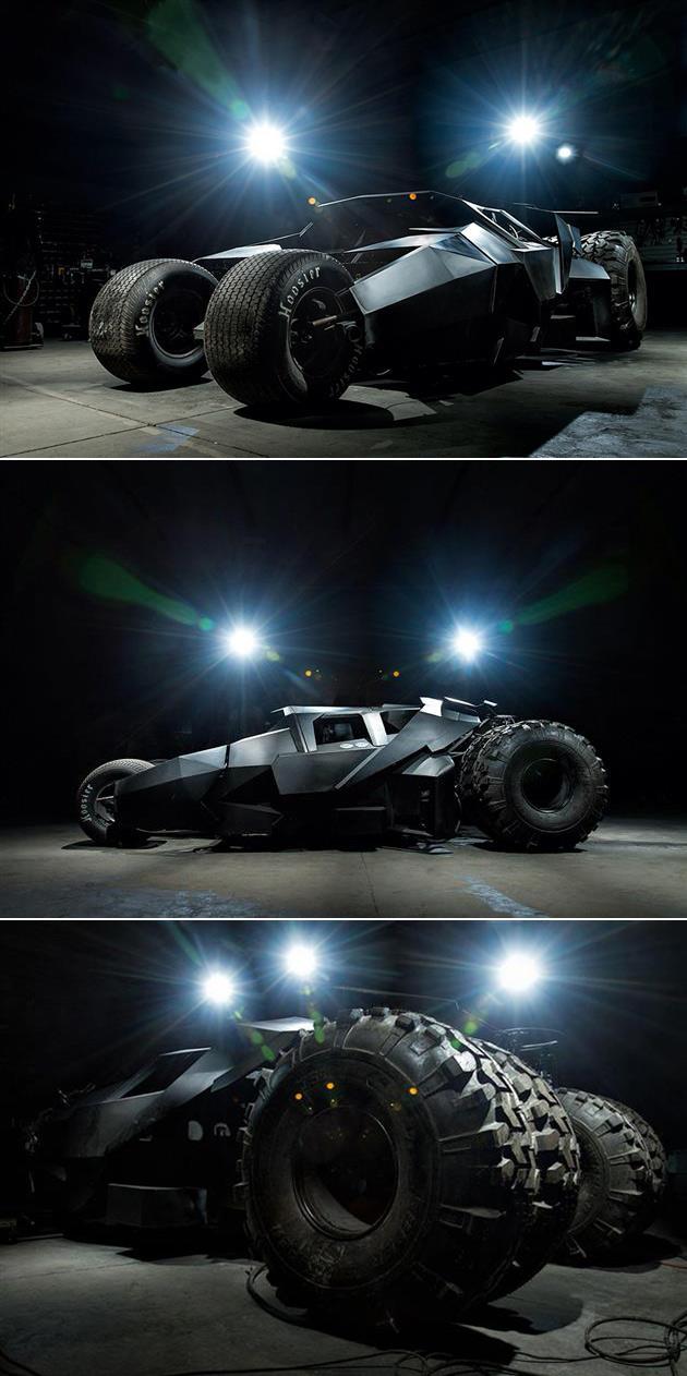 Batman Tumbler Real Street