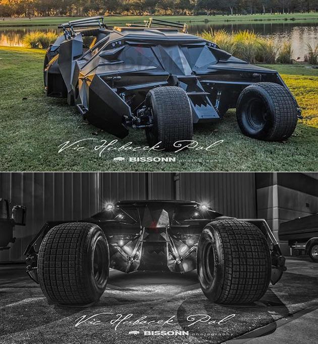 Batman Tumbler Real