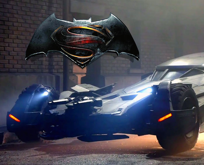 New Batmobile in Batman vs Superman