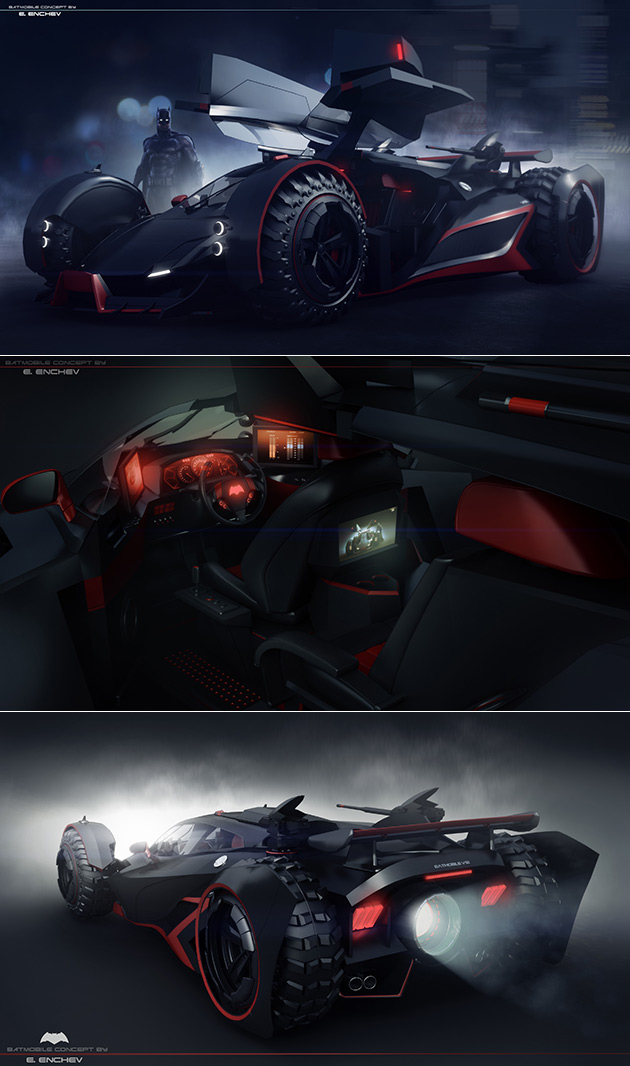 Batmobile Concept V12