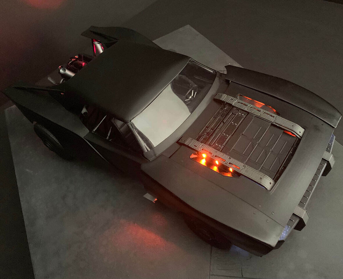 Batmobile Model The Batman 2021
