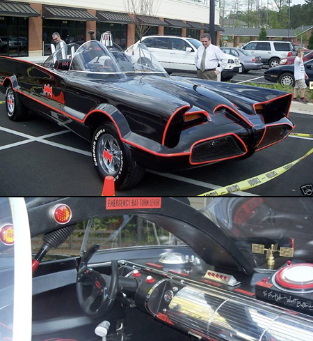 TechEBlog В» eBay Watch: Amazing Batmobile Replica Has Emergency Bat