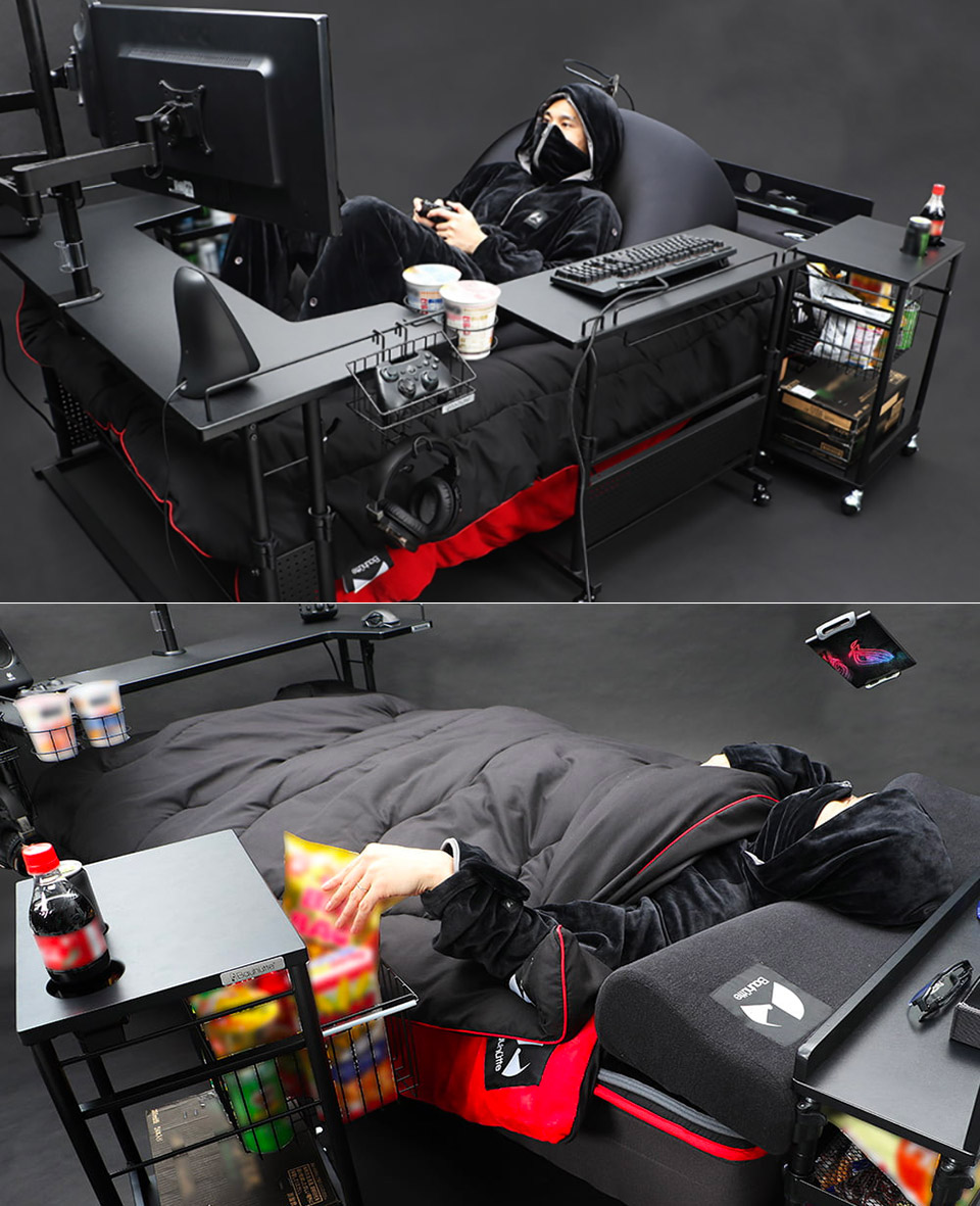 Bauhutte Ultimate Gaming Bed
