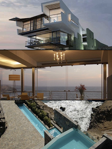 Amazing Stacked Beach House Features Stunning Views - TechEBlog