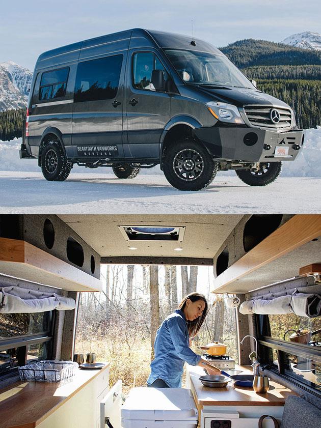 Beartooth Vanworks Custom Sprinter Vans Look Normal at First, But