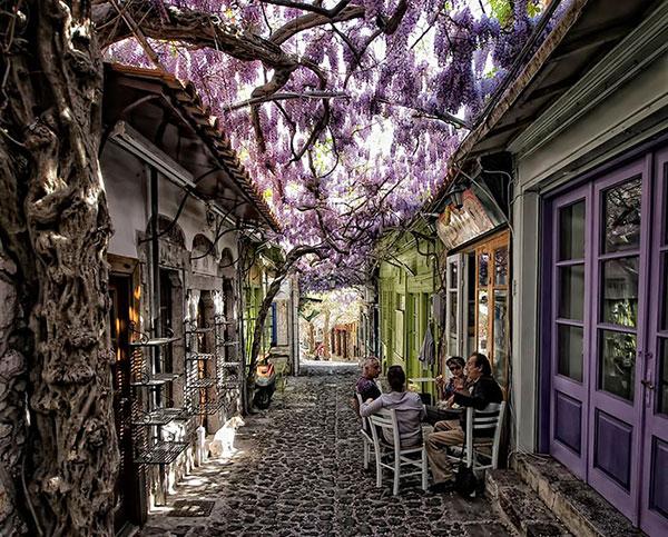 Beautiful Greece Street