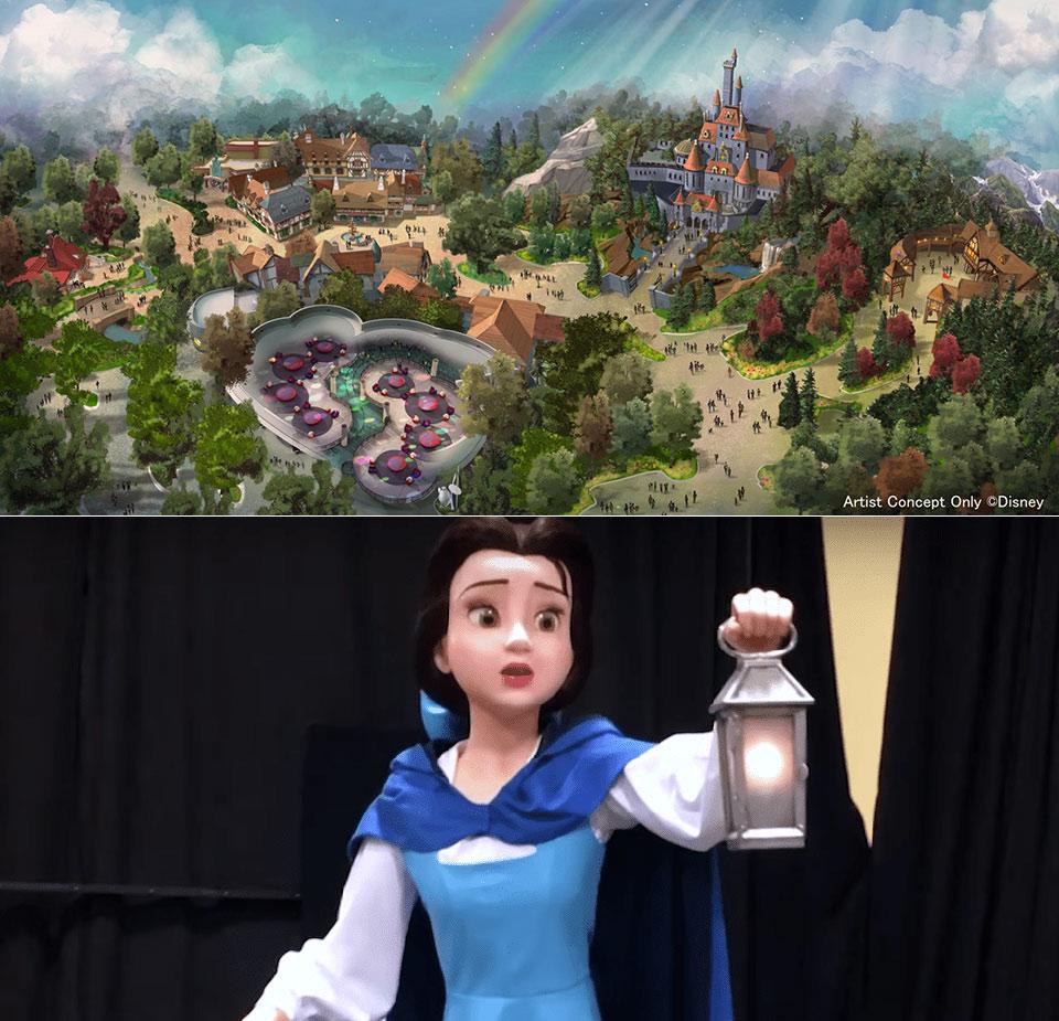 Beauty and the Beast Tokyo Disneyland