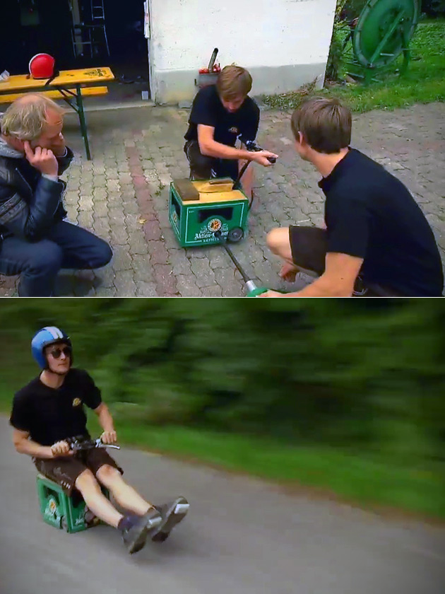 Beer Crate Bike