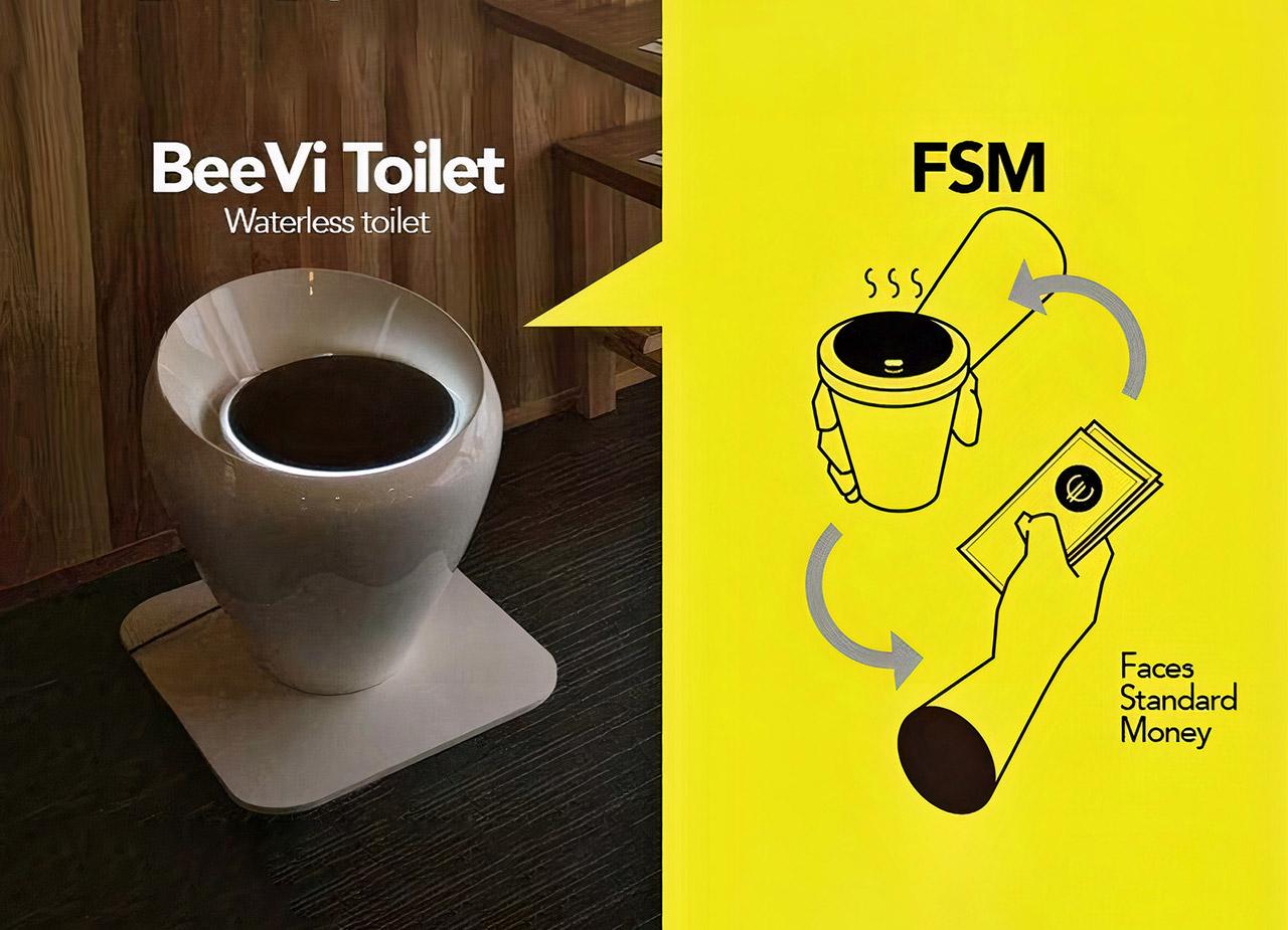 BeeVi Toilet South Korea Toilet Cryptocurrency